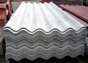 Tipos de láminas existentes: Lámina de asbesto