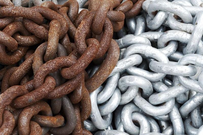 Los tipos de corrosión se definen según el agente que los provoca