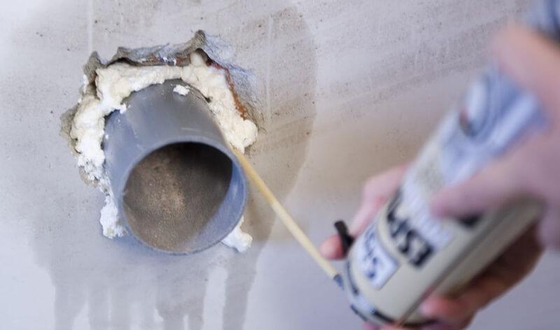 El poliuretano es un material común en la industria de la construcción
