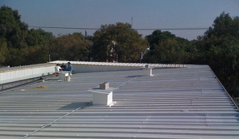 El sistema multipanel para techos hace posible el hermetismo