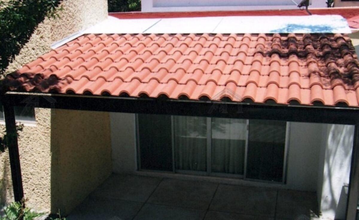 El cemento y el acero se consideran materiales para techos de gran calidad
