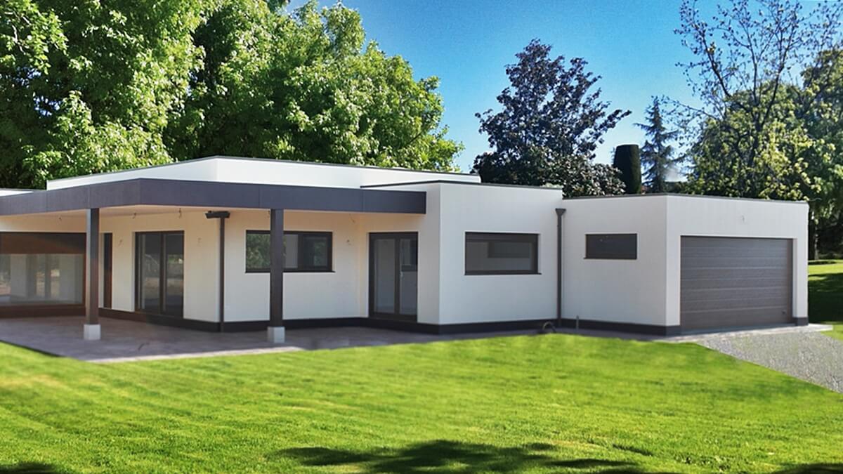 Las casas de multipanel permiten optimizar tiempo y materiales de construcción